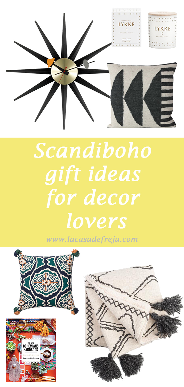 scandi boho gift ideas for decor lovers