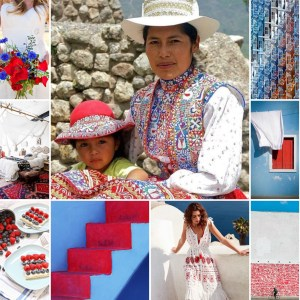Colca Valley colors - Inspiration board