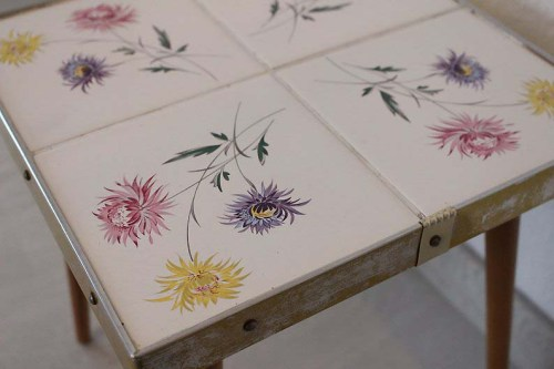 Tables and boho tiles Do they combine in a decoration 15