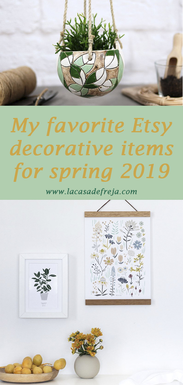 My favorite Etsy decorative items for spring 2019 00
