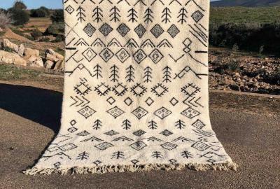 Let yourself be captivated by the Beni Ouarain rugs 09