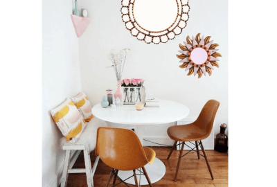 Simple steps to decorate with mirrors 01