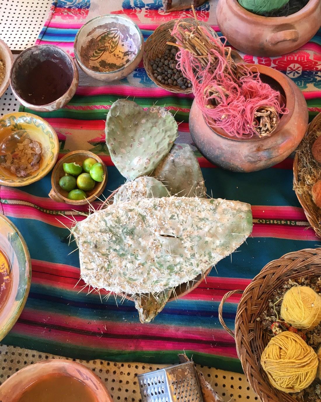 Peru natural dyes