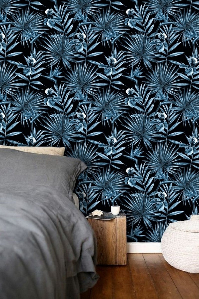 Latest trends in wallpaper in 2019 risky combinations 09