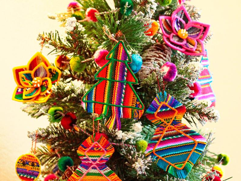 Peruvian inspiration to decorate your Christmas tree 05