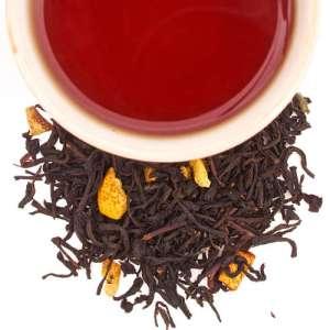 té negro indio con limon citrico