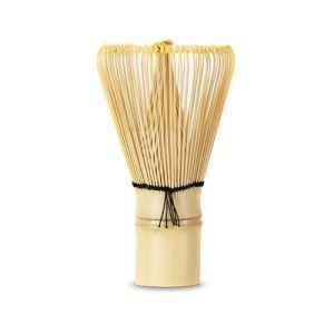 chasen japonés de bambu para matcha