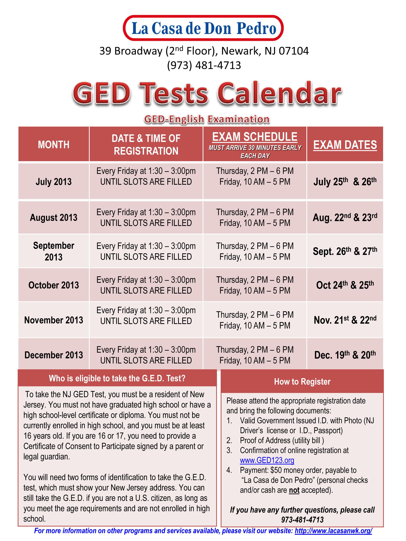 Ged Programs In Newark Nj Download Free Software