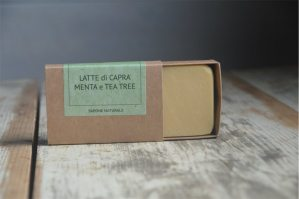 Saponetta menta e tea tree
