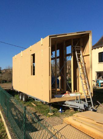 Construction de la tinyhouse