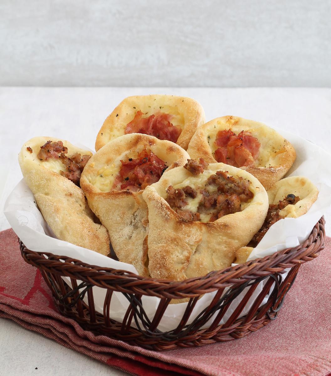 Conetti di pizza senza glutine - La Cassata Celiaca