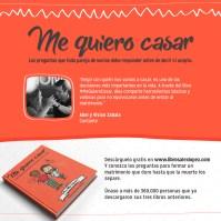 Recomendación de Abel Zavala del libro Me Quiero Casar del Pastor Alex López
