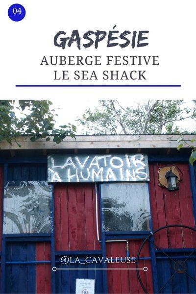 L'auberge festive le Sea Shack