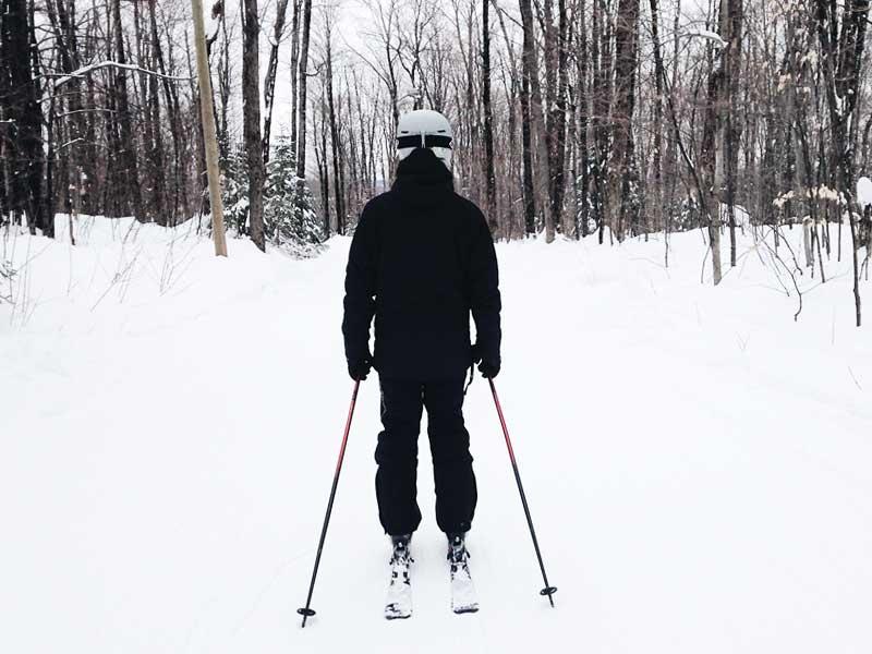 Ski alpin à la montagne Vallée du Parc : escapade weekend hiver en Mauricie