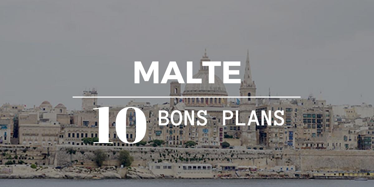 Bons plans Malte