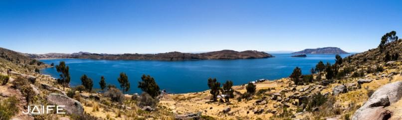 Panorama du lac Titicaca