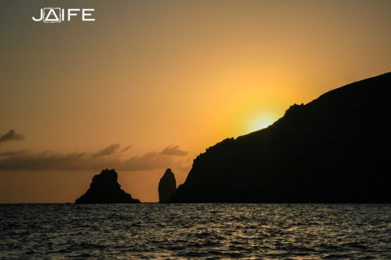 Sunset on Lipari