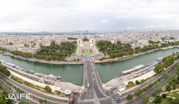 La Seine et le Trocadéro