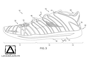 [Brevet] Nike et l'impression 3D 4