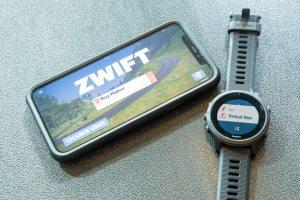 Zwift depuis votre montre