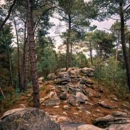 Les rochers des Gorges du Houx