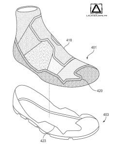 [Brevet] Nike et sa chaussure simplifiée 5