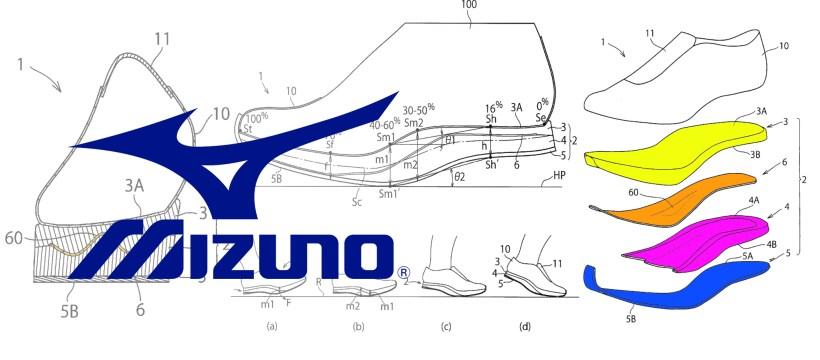 [Brevet] Mizuno et une chaussure sans talon 1