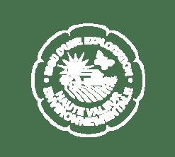 Logo blanc haute Valeur Environnementale