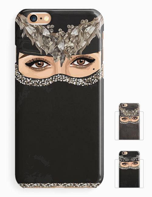 Niqab lady