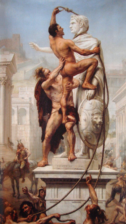 Joseph Sylvestre - Il Sacco di Roma del 410