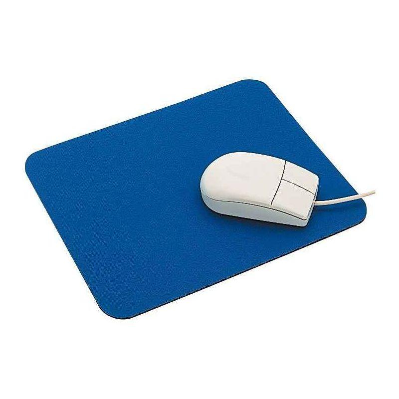 tapis souris tissu bleu