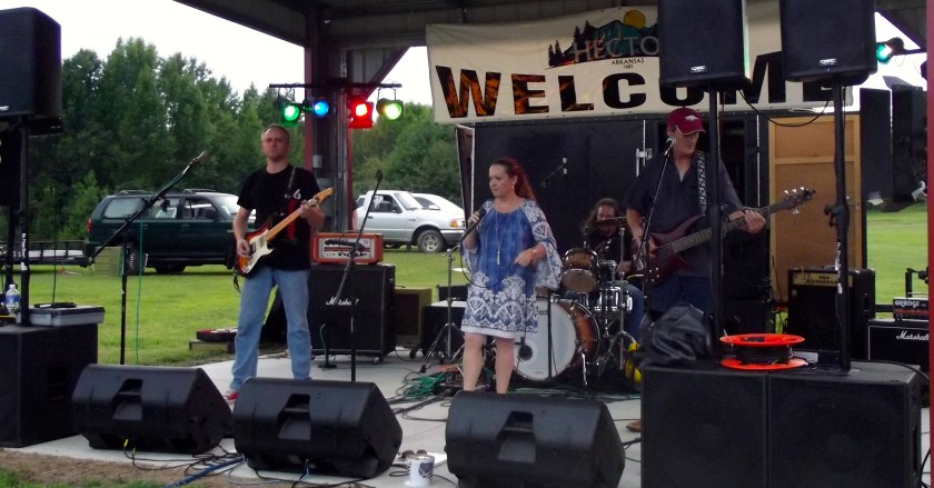 TypsyGypsy plays main stage at the first annual Hector Fest. Photo by Lacey Keenan © 2016