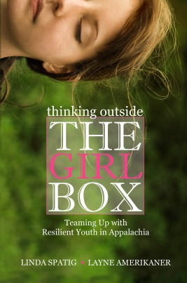"Book cover for ""Thinking Outside The Girl Box"" (2014)"