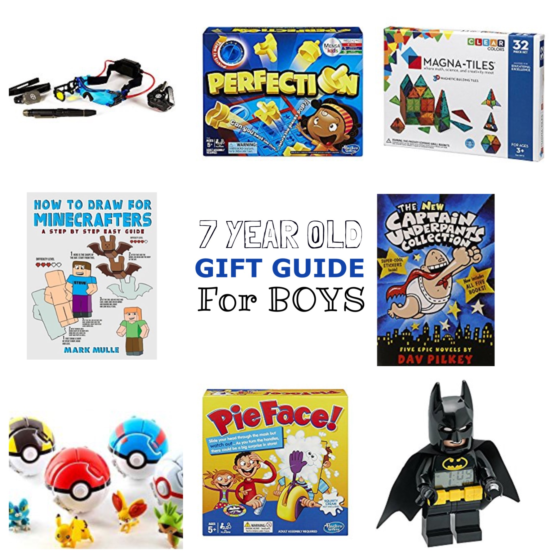 7 Year Old Boy Gift Guide - Lacey Placey