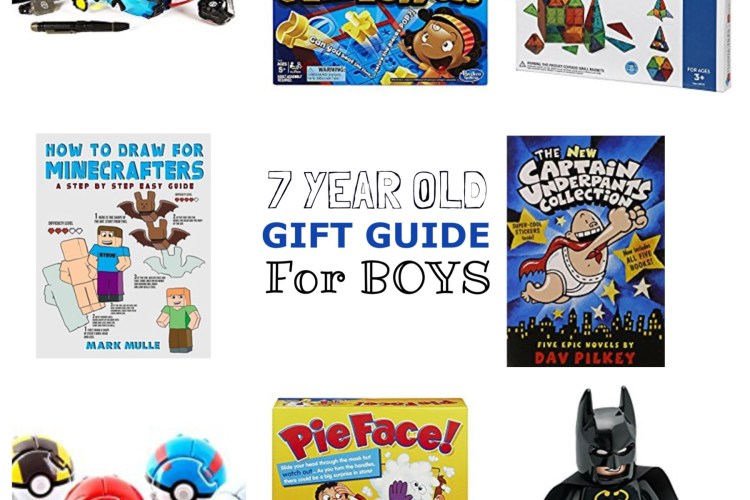 7 Year Old Boy Gift Guide