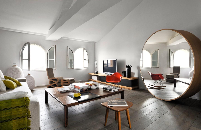 Un'attico minimalista a Marsiglia, aperto sul cielo del Mediterraneo, by François Champseur