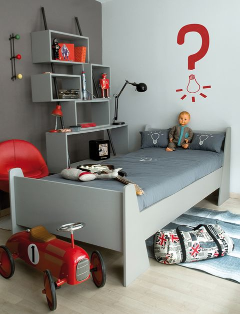 3boys - Kids Room - La Chiase Bleue via Laurette
