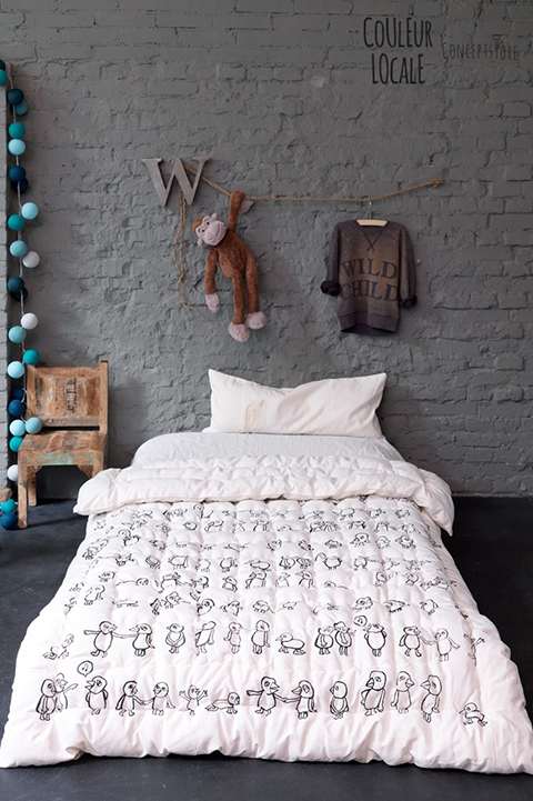 5boys - Kids Room - La Chiase Bleue via couleurlocale