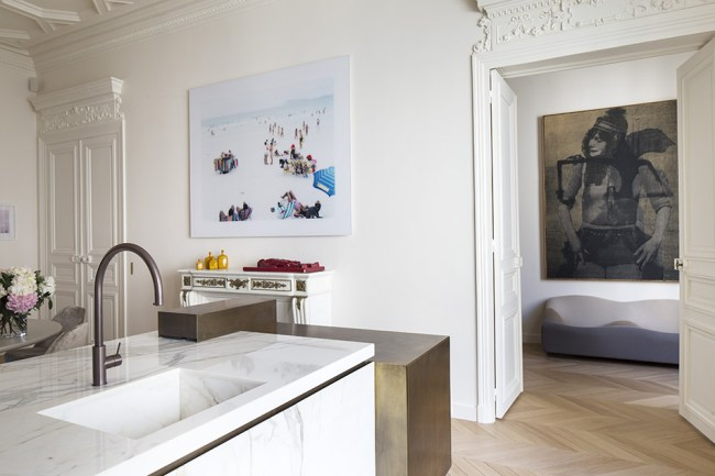 Home tour - Appartement Trocadero by Rodolphe Parente - selected by La Chaise Bleue