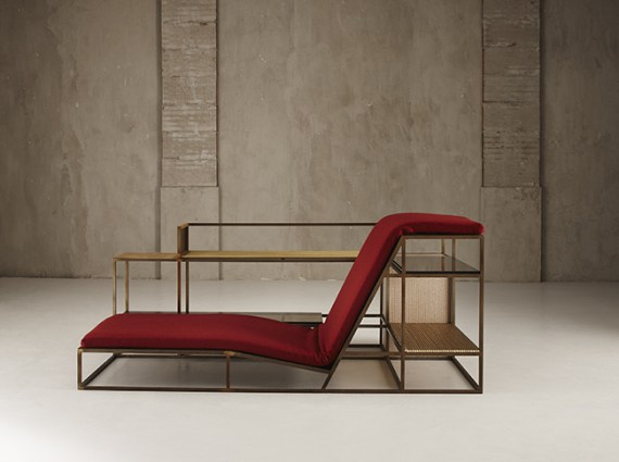 NILUFAR DEPOT - Living in a chair by Federico Peri - Selected by La Chaise Bleue (lachaisebleue.com)