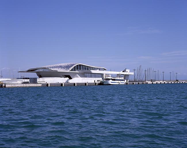 La Stazione Marittima di Salerno - Salerno Maritime Terminal by Zaha Hadid | Selected by La Chaise Bleue (lachaisebleue.com)