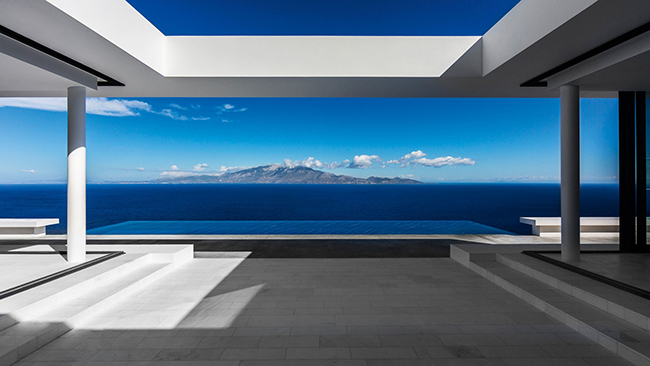 The Silver House in Zakynthos, by Oliver Dwek Architectures - Selected by La Chaise Bleue (lachaisebleue.com)