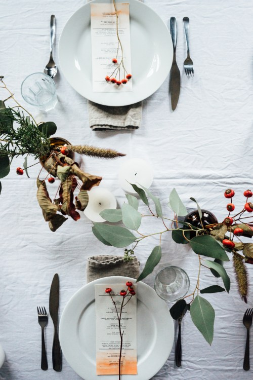 Weekend links #1 | La Tavola di Natale | Christmas Table Settings | via: Tending the table | Selected by La Chaise Bleue (lachaisebleue.com)