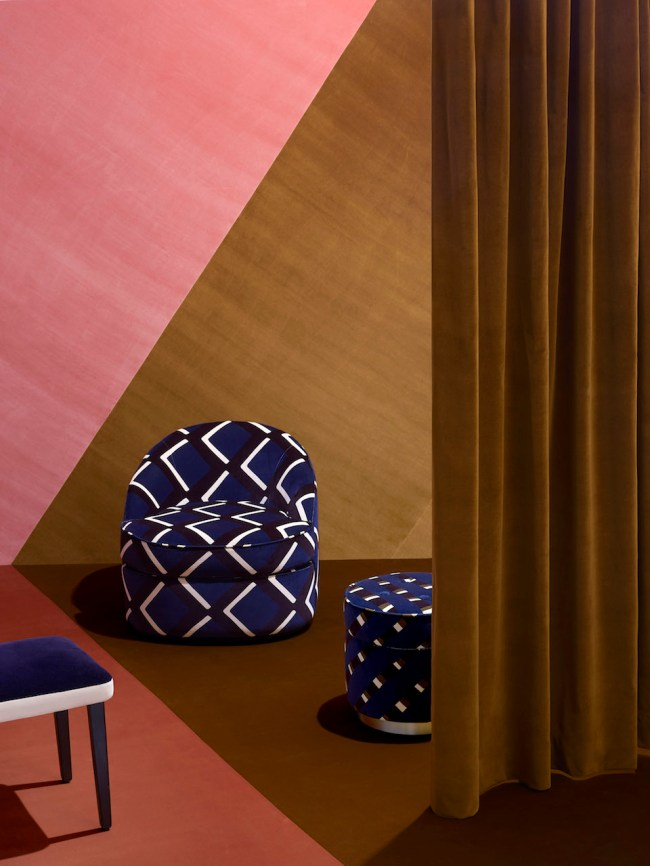 """True Velvet"" di India Mahdavi per Pierre Frey 