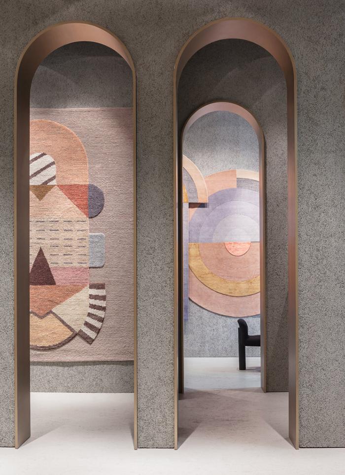 Maison & Objet e Paris Déco Off 2018 | Tappeto Cartesio diElena Salmistrato per CC-tapis | Selected by La Chaise Bleue (lachaisebleue.com)