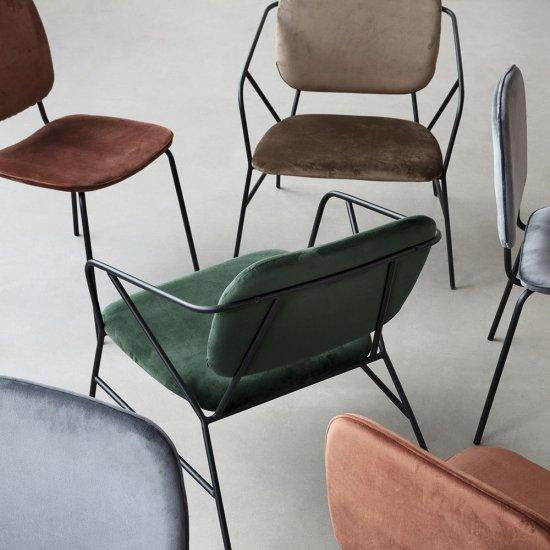 Maison&Objet Paris 2018 | Lounge Chairs KLEVER, di House Doctor | Selected by La Chaise Bleue (lachaisebleue.com)