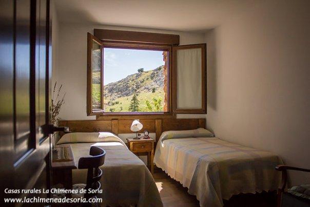 Casa Rural en el Cañón del Río Lobos La Chimenea de Soria habitación