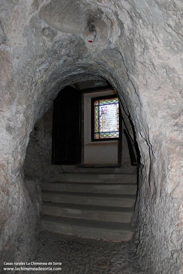 soria ermita san saturio cueva vidrierasoria ermita san saturio cueva vidriera
