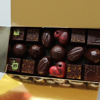 Ballotin de 500g de chocolat noir