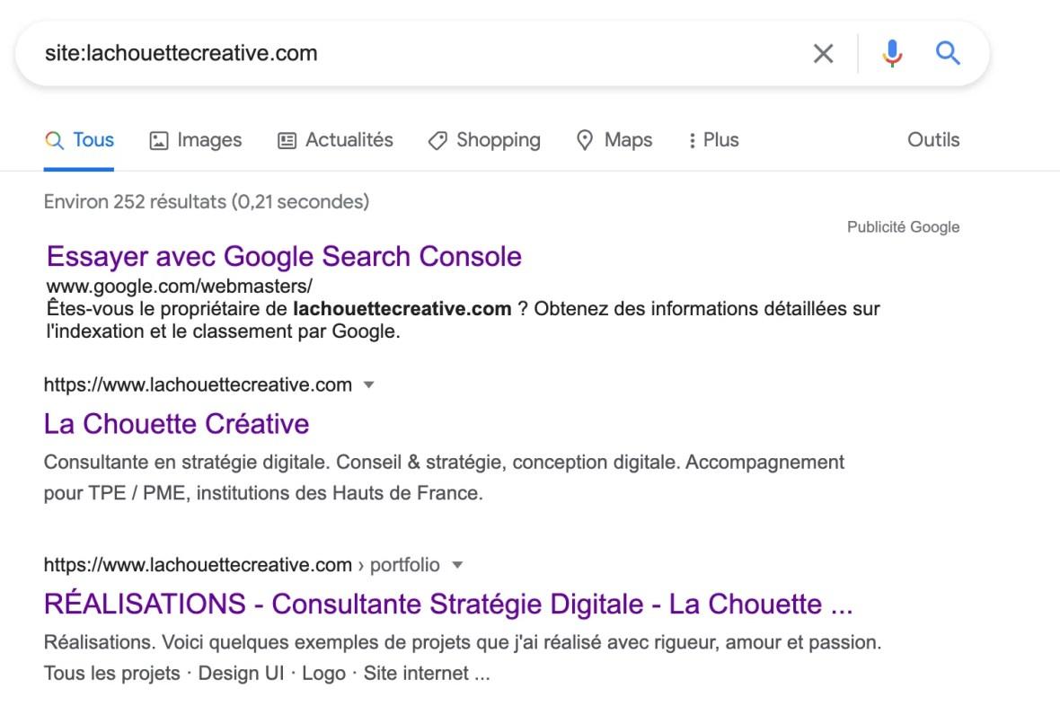 Pourquoi mon site n'apparait pas dans Google ?